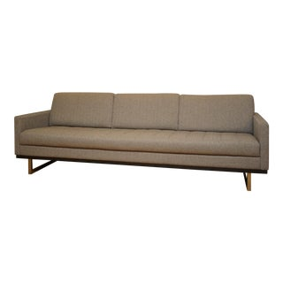 Modern American Leather Brand Tristan Modern Sofa For Sale