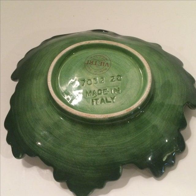 Majolica-Style Leaf Dish - Image 5 of 6