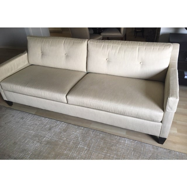 Contemporary Ethan Allen Monterey Sofa For Sale - Image 3 of 7