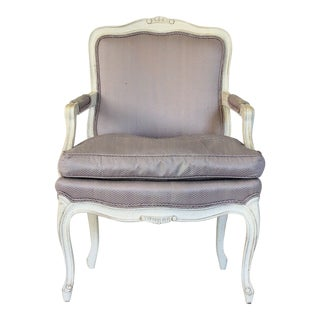 Henredon Bergere Accent Chair For Sale