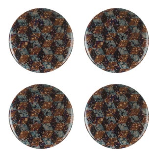Studiolo Style A Dinner Plate - Set of 4 For Sale