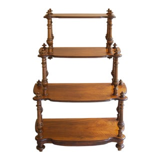 19th Century French Louis Philippe Bookshelf ~ Etagere For Sale
