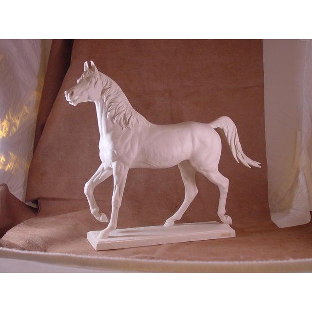 1960s Vintage Arabian Horse Sculpture For Sale - Image 13 of 13
