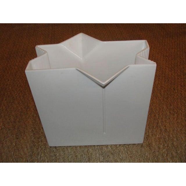 Modern Asti Ceramic Vase - Signed For Sale - Image 3 of 4