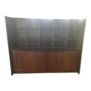 Scandinavian Modern China Cabinet For Sale