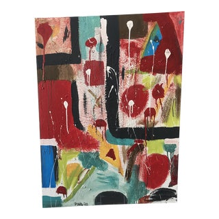 Contemporary Abstract Large Painting For Sale