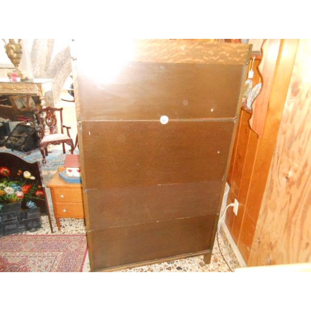 1900s Traditional Gunn Barrister Secretary Bookcase For Sale - Image 4 of 11