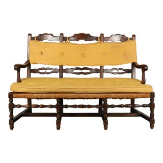 Early 20th Century Country French Bench For Sale