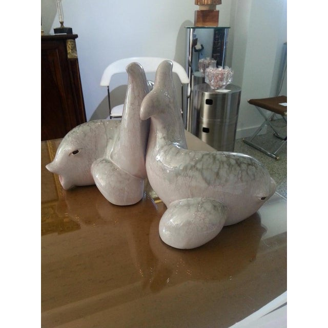 Ovington Brother at New York Koi Fish Bookends by Saco of Italy for Ovington's - a Pair For Sale - Image 4 of 12