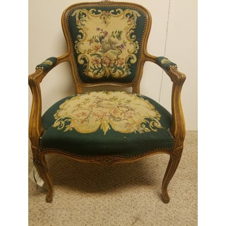 19th Century French Needle Point Arm Chair Preview