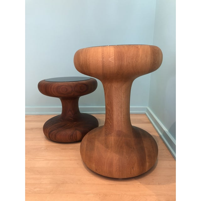 These are Floor samples and are like new. The Mushroom Family is comprised of two tables with impressive curves that...