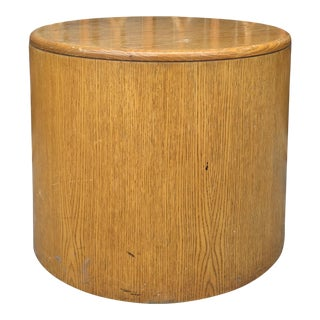 1980s Mid-Century Modern Wooden Side Table For Sale