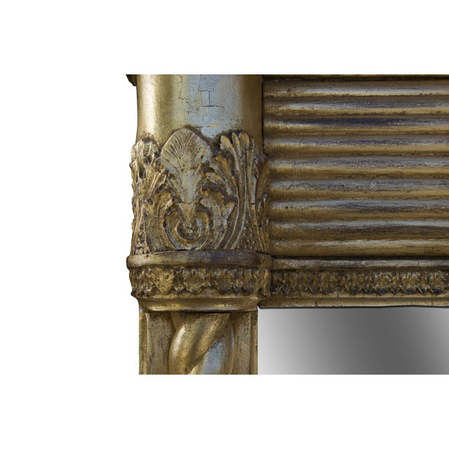 Antique Early 19th Century Mantel Mirror - Image 3 of 8
