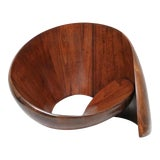 Image of Norman Ridenour Walnut Sculpture For Sale