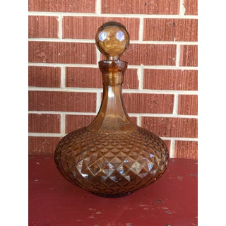 Vintage Amber Decanter Preview