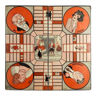 "1921 ""Keeping Up With the Joneses"" Game Board For Sale"