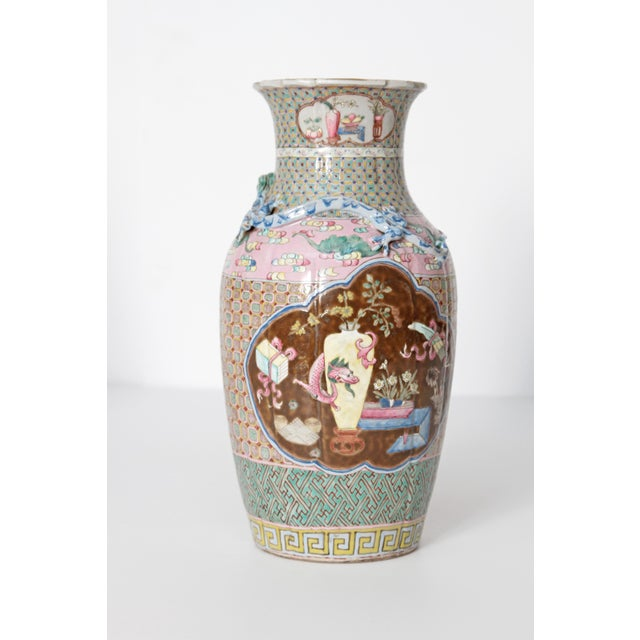 19th Century Pair of Chinese Vases For Sale - Image 4 of 11