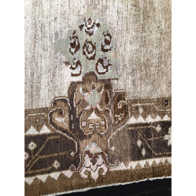 """Vintage Turkish Oushak Rug - 7'8""""x10'7"""" - Image 7 of 10"""