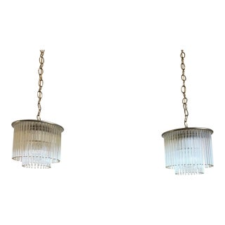 Sciolari Pendant Lights by Lightolier - A Pair For Sale