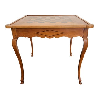 Vintage Louis XV Style French Game Table For Sale