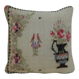 Turkish Lumbar Kilim Pillow For Sale