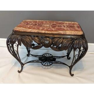 1930's Vintage Art Nouveau Marble Top Table Preview