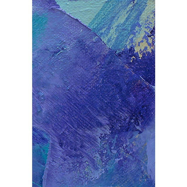 Abstract Teodora Guererra, 'Lavender I', 2018 For Sale - Image 3 of 4