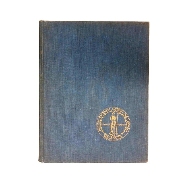 """1950s 1959 """"Mortarboard: Barnard College Yearbook"""" Coffee Table Book For Sale - Image 5 of 5"""