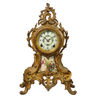 Mid 19th Century Antique New Haven Clock For Sale