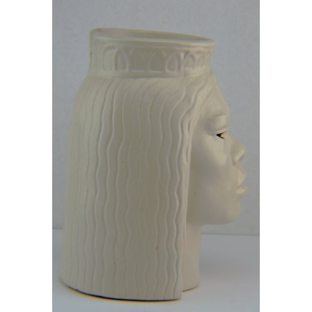 Asian Doan Powell Polynesian Head Sculpture For Sale - Image 3 of 11