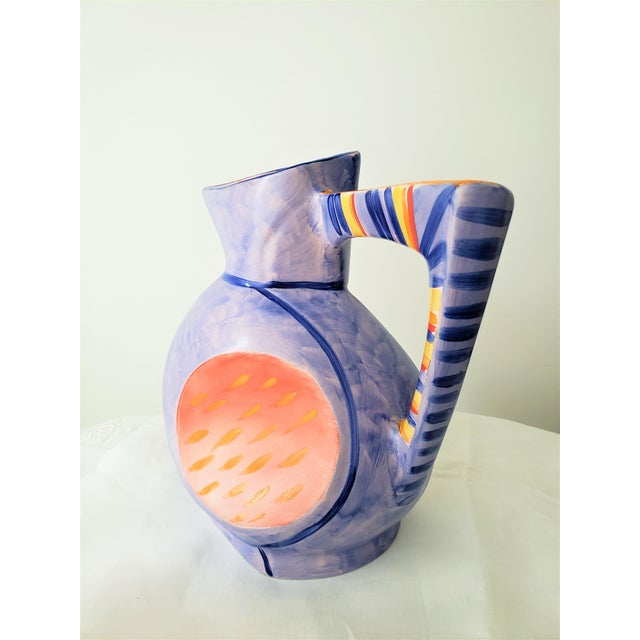 FleshPots Ceramic Cubist Vase by Morris Rushton For Sale - Image 4 of 11