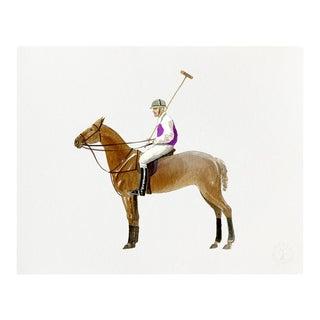"""Polo Stand"" Giclée Art Print by Felix Doolittle - 8x10 For Sale"