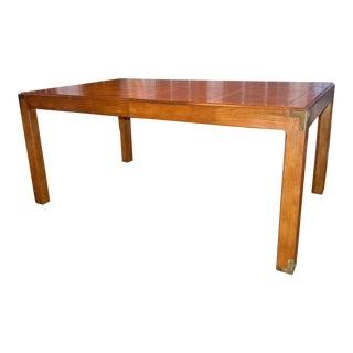 1979 Henredon Artifacts Oak Dining Table