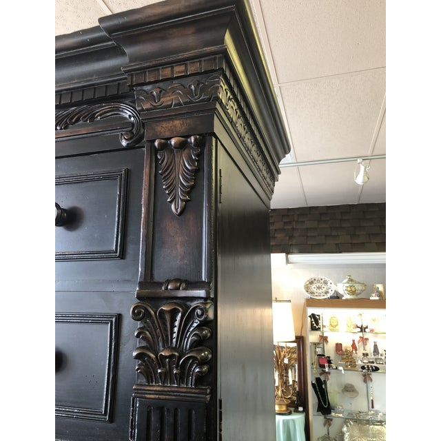 1990s Century Furniture Folding Wardrobe Armoire For Sale In Chicago - Image 6 of 10