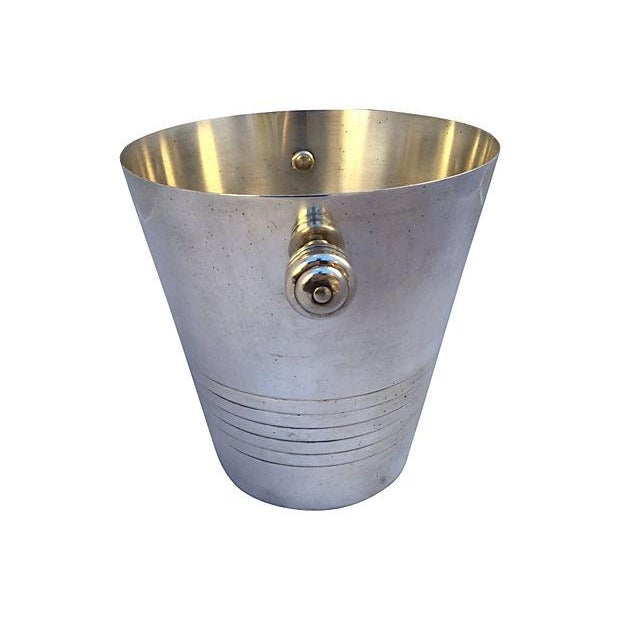 French Silver Plate Champagne Bucket - Image 3 of 6