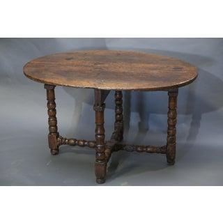 18th Century Walnut Side Table