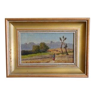 1893 Townley Benson Southwestern Landscape For Sale