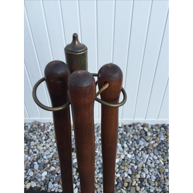 Mid-Century Modern Seymour Fireplace Tools - Image 4 of 6