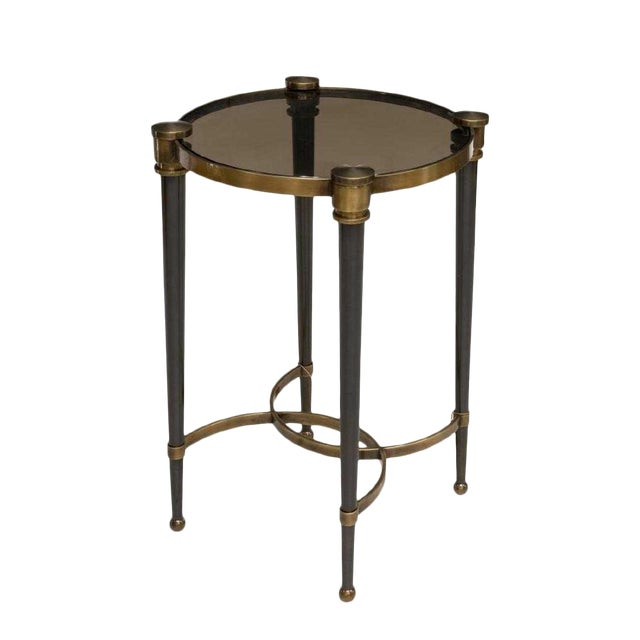 Art Deco New Uttermost Co. 'Thora' Accent Table For Sale
