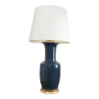 Bungalow 5 Alia Blue Buffet Lamp For Sale
