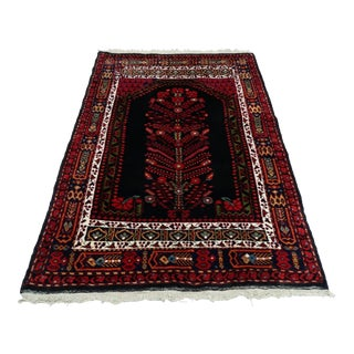 Early 20th Century Turkish Rug-4′5″ × 6′2″ For Sale