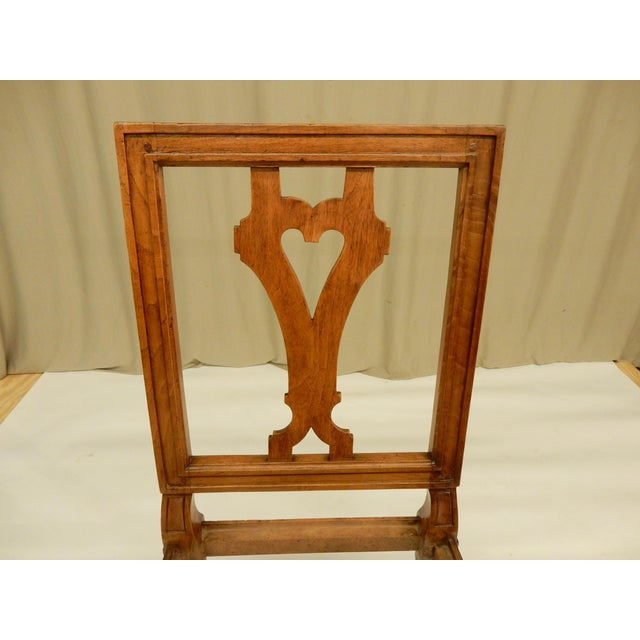 19th Century 19th Century Louis XVI Walnut Dining Chairs - Set of 8 For Sale - Image 5 of 9