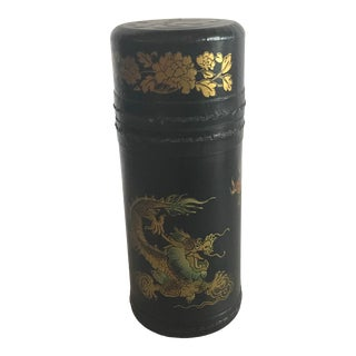 Antique Chinese Fortune Telling Game in Leather Case For Sale