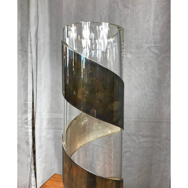 Lino Sabattini Silverplate-Wrapped Crystal Vase - Image 2 of 9