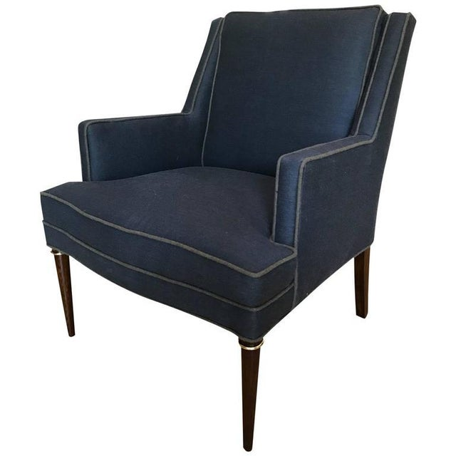 1950s Edward Wormley for Dunbar Armchair For Sale - Image 5 of 5
