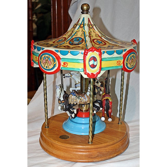 Tabletop Carousel by Fraley - Image 4 of 9