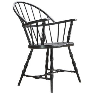 Rare Bankers Vault Metal Fireproof Windsor Armchair by Simmons For Sale