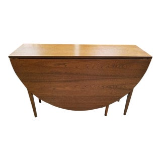 Teak Drop Leaf Table. C.1960's Uk Import
