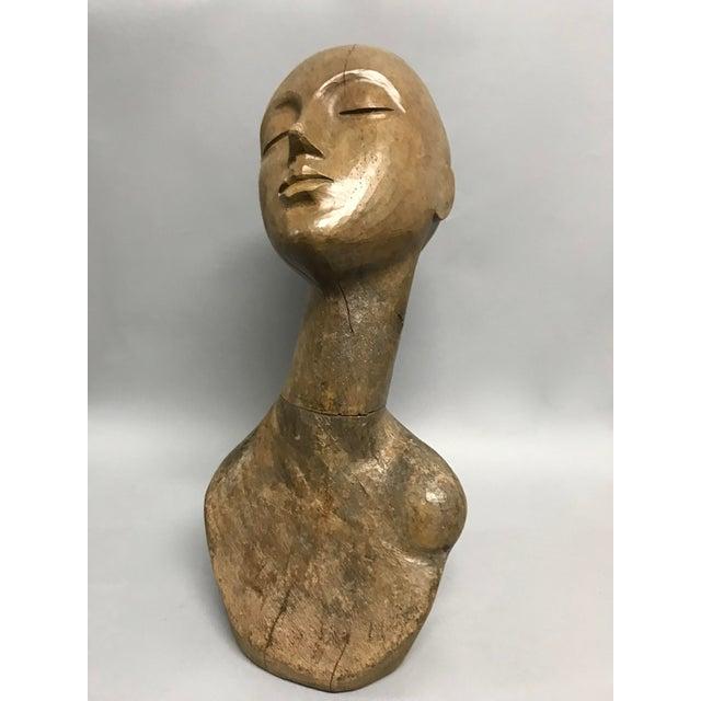 Wood Vintage Carved Wood Mannequin For Sale - Image 7 of 9
