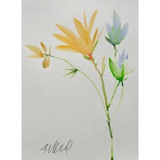 "Botanical 45, Original Watercolor, 9x12"" For Sale"